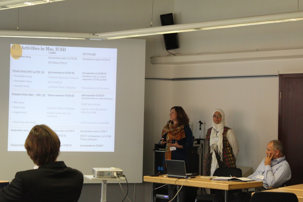 IUSD presenting the latest developments in the programme to the GAMP network