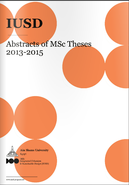 Abstracts of MSc Theses