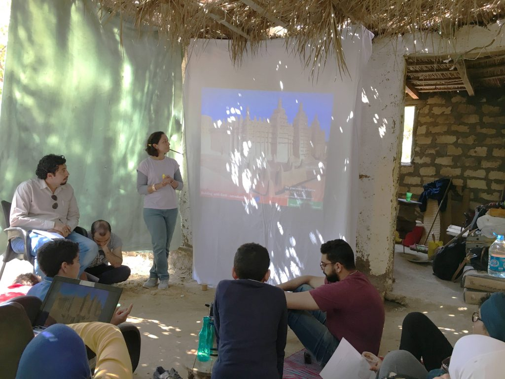 "Theoretical introduction to ""Building with Earth"" @Mennah Metwally"