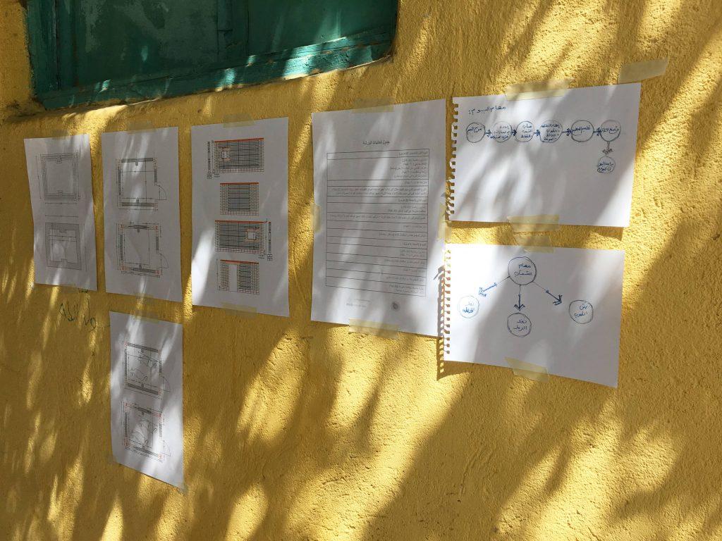 Sketches, and task description @Mennah Metwally