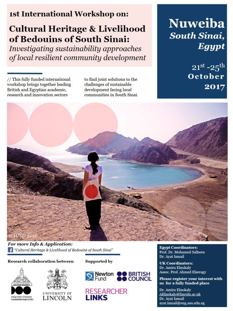 Cultural heritage & Livelihood of Bedouins of South Sinai