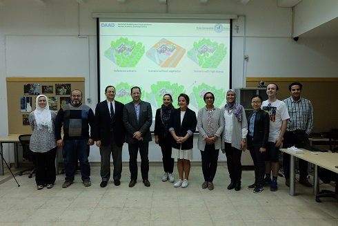 """The Launch of """"IUSD -Urban Climatic Lab"""" 
